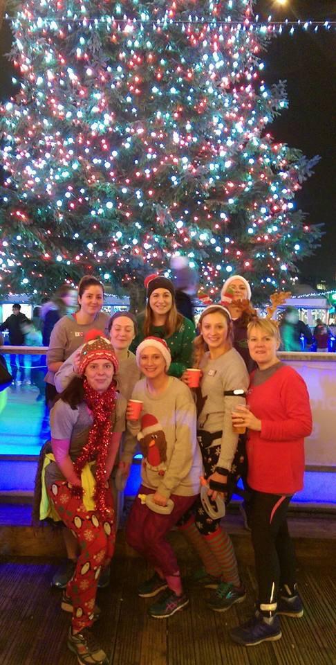 NWR Christmas Jumper 'Apres Run!' Dec 2016