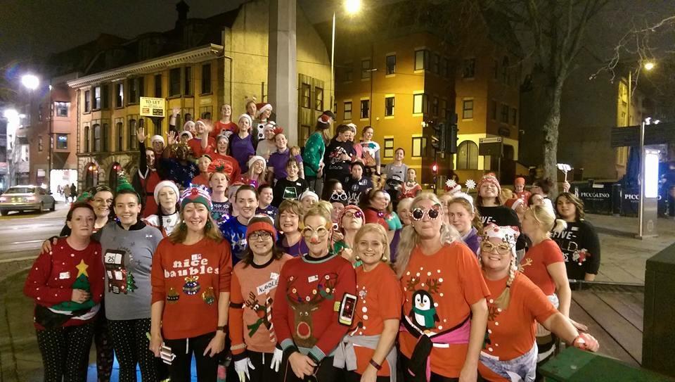 NWR Christmas Jumper Run, Dec 2016