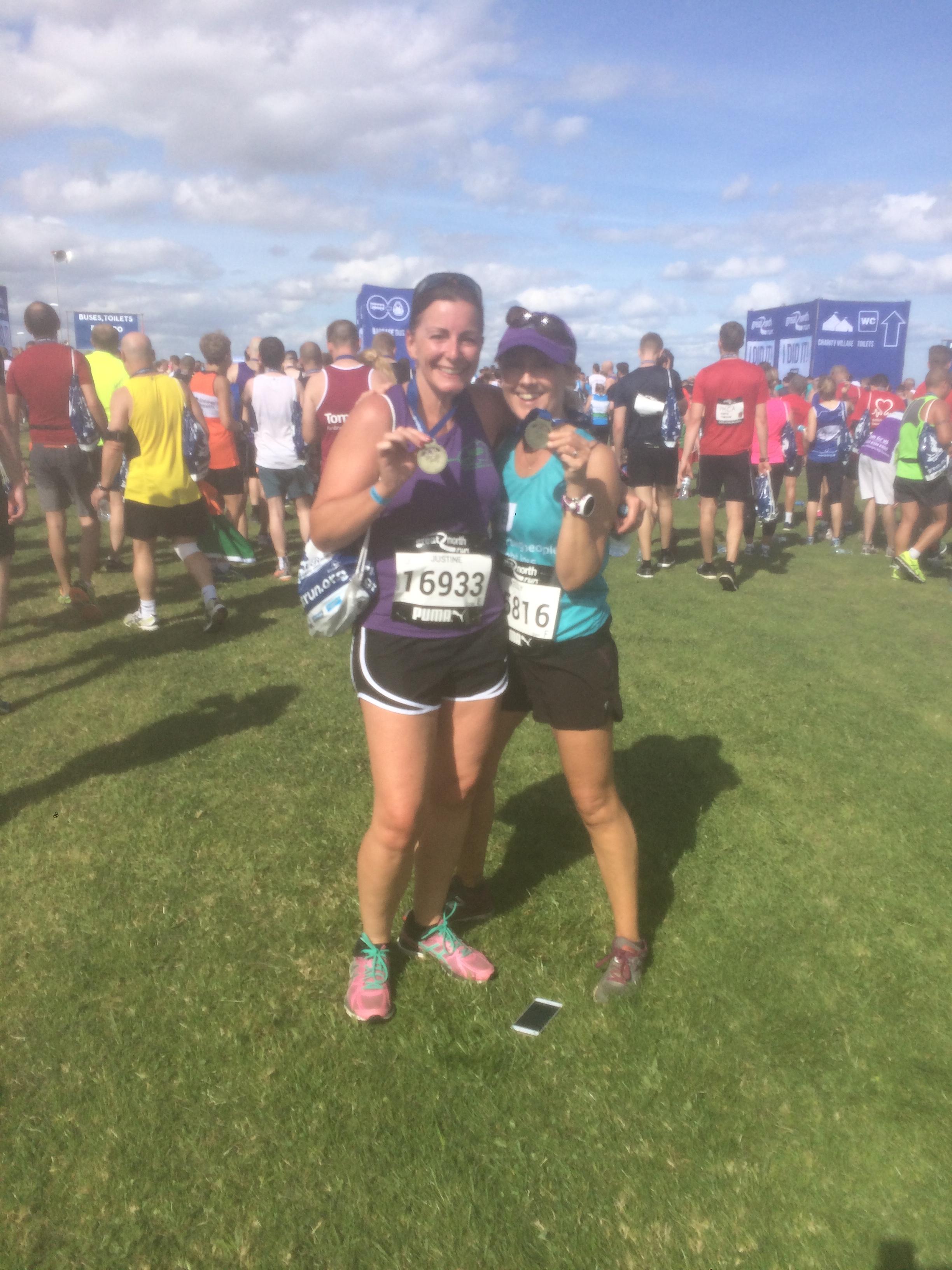 NWR at the Great North Run 2016