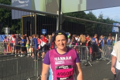 NWR Great North runner - Hannah