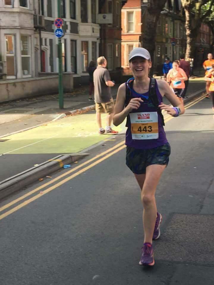 Run Leader Sally Purday