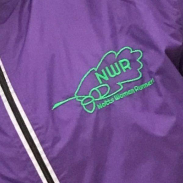 NEW Lightweight Run jacket - Logo Detail